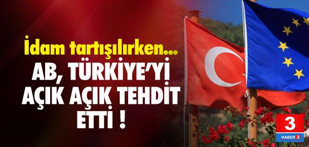 AB'den Türkiye'ye 'idam' tehdidi