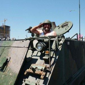 5 dakikada tank kullanmayı öğrenen Rizeli o anları anlattı