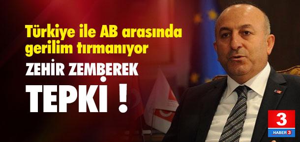 Bakan Çavuşoğlu'ndan AB'ye: Türkiye'nin patronu değil !