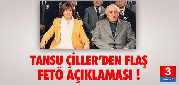 Tansu Çiller'den FETÖ açıklaması !