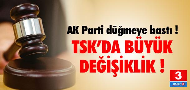 AK Parti düğmeye bastı !