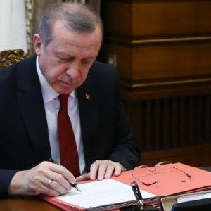 Erdoğan Danıştay'a o isimleri atadı