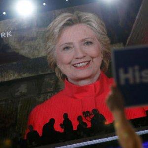 Clinton tarihe geçti