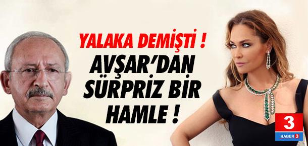 Kılıçdaroğlu'na dava açmıştı ! Hülya Avşar'dan sürpriz hamle...