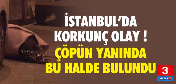 İstanbul'da korkunç cinayet !