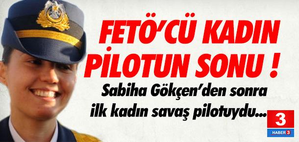 Tutuklanan kadın Pilot Üsteğmen Kumaş da ihraç edildi