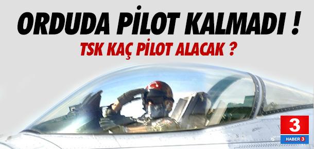 TSK kaç pilot alımı yapacak ?