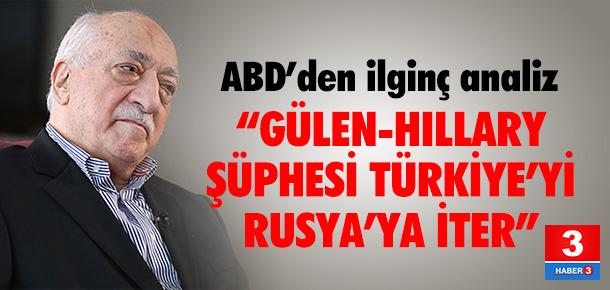"""""""Türkiye'yi Rusya'ya itebilir"""""""