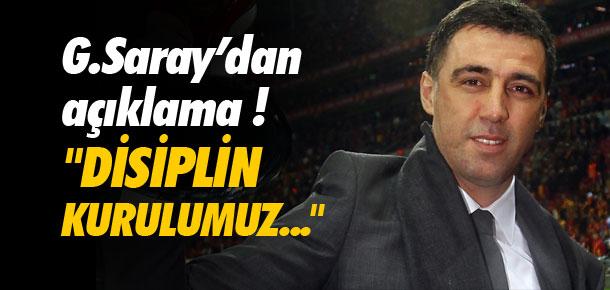 Galatasaray'dan Hakan Şükür açıklaması !