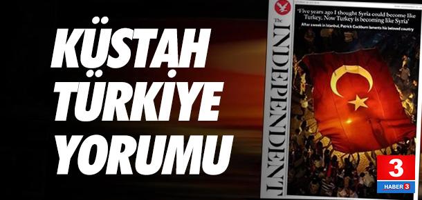 ''Türkiye, Suriye gibi oluyor''