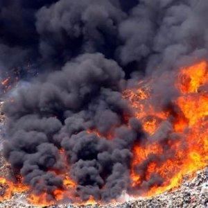Bodrum'da korkutan yangın !