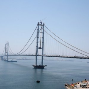 Osmangazi Köprüsü'nde büyük zarar !