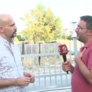 Beyaz TV muhabiri Atalay Demirci'ye tükürdü