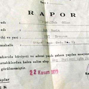 Gülen'in sağlık raporunu saklayan komisere gözaltı