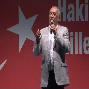 Mehmet Ağar demokrasi nöbetinde
