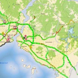 İstanbul trafiğinde ilginç durum