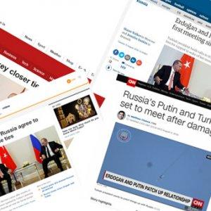Putin ve Erdoğan görüşmesi basına nasıl yansıdı ?
