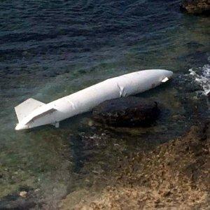 Kocaeli'nde sahile yakıt tankı vurdu