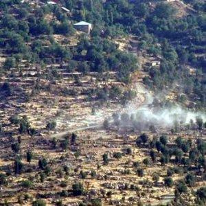 PKK'lılar Hudut Bölüğü'ne saldırdı !
