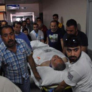 AK Partili milletvekili trafik kazası geçirdi !