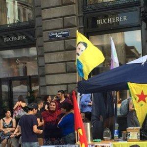 PKK yandaşları ortalığı karıştırdı
