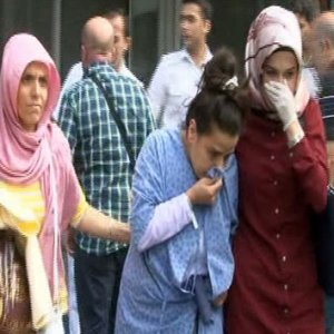 İstanbul'da hastanede büyük yangın !