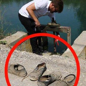 Sulama kanalı mezar oldu
