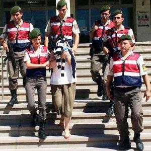 DHKP-C'li kadın tutuklandı