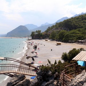 Antalyalı piknikçilerin yeni adresi ''Topçam''