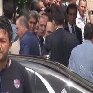 Erdoğan, mevlide katıldı