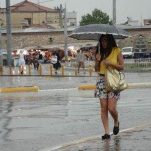 6 il için sağanak yağış uyarısı