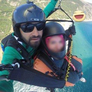 Genç paraşütçünün feci sonu