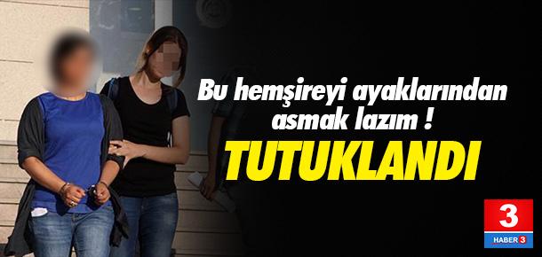 Yaralı askerlerin odasına giren hemşire PKK'lı çıktı