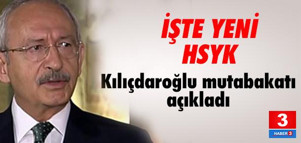 Kılıçdaroğlu: HSYK ikiye bölünecek