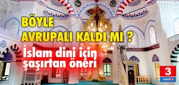 İsviçre'de İslam resmi din olsun önerisi