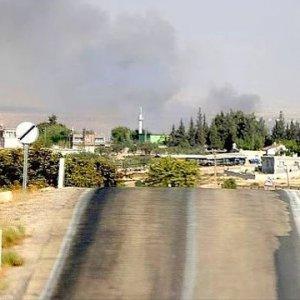 IŞİD'in attığı havan mermisi Karkamış'a düştü !
