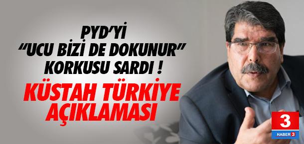 PYD lideri Salih Müslim'den Türkiye açıklaması