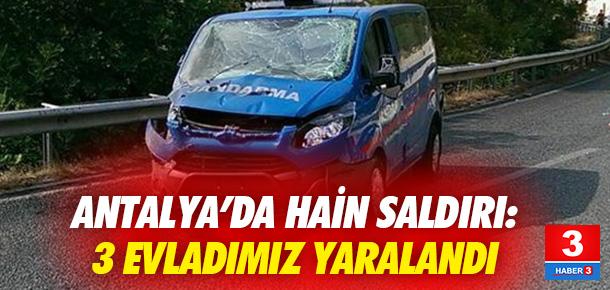 ANTALYA'DA HAİN SALDIRI: 3 EVLADIMIZ YARALANDI !