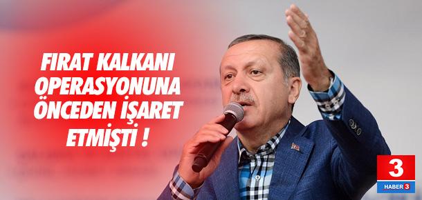 Cumhurbaşkanı Erdoğan böyle uyarmıştı