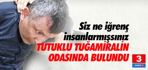 Tuğamiralin defterinden Gülen'in saçları çıktı