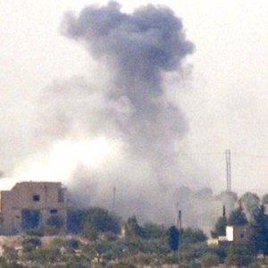 Türkiye - Suriye sınırında büyük patlama !