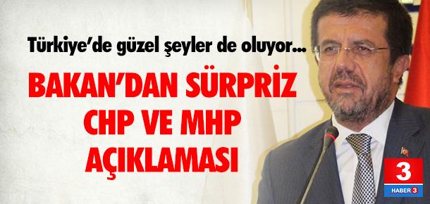 Zeybekci: ''İyi ki CHP, MHP var''