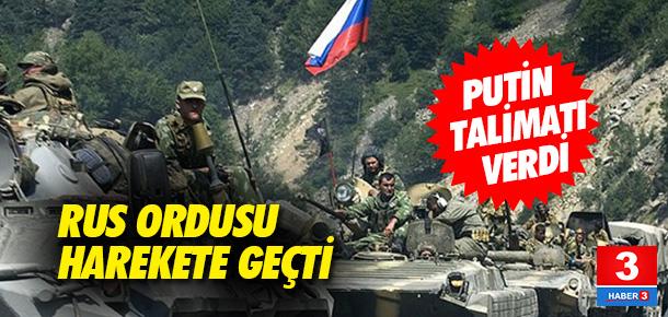 Rus ordusundan ani tatbikat