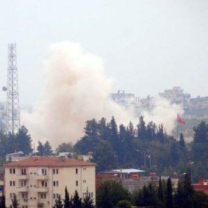 Türkiye sınırında büyük patlama