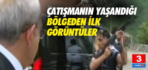 Kılıçdaroğlu'na saldırıdan ilk görüntüler