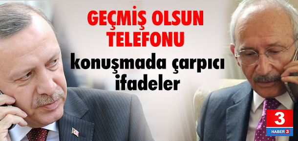 Kılıçdaroğlu ve Erdoğan saldırıdan sonra böyle görüştü