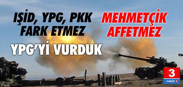 TSK terörist YPG'yi vurdu