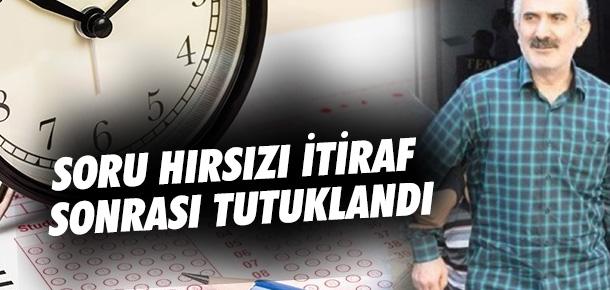 2010 yılı KPSS sorularını çalmakla suçlanan Özcan Solmaz tutuklandı