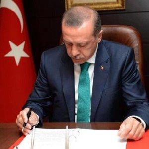Erdoğan o kanunu onayladı !