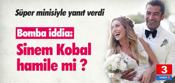 Sinem Kobal hamile mi ?